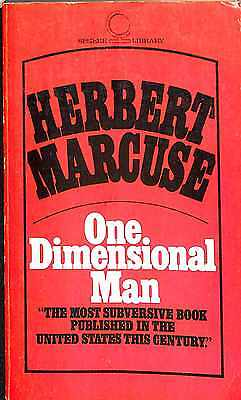 One-dimensional Man, Good Condition Book, Marcuse, Herbert, ISBN 0722158424
