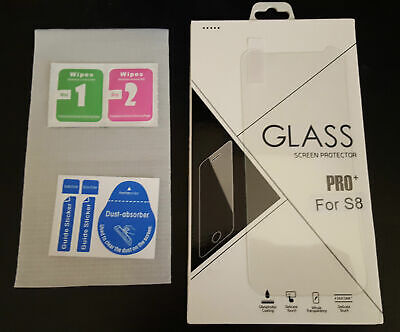 9H 0.33mm 2.5D Clear Tempered Glass Screen Protector for Samsung Galaxy S8