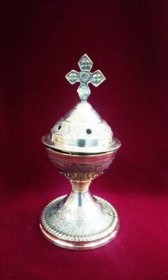 Metal Censer - Thurible - Incense Burner Censer Greek Russian Orthodox Catholic