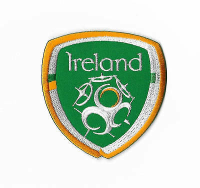 FAI Patch Embroidered Badge Irish Football Ireland Soccer Crest World Cup 2018