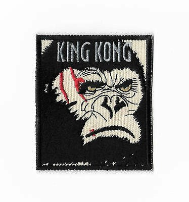 King Kong Patch Embroidered Badge Horror Movie Gorilla Monster vs Godzilla Ape