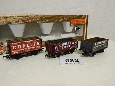 Bachmann OO 3 Assorted Private Owner Coal Wagons