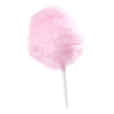 400 Count Cotton Candy Floss Paper Cones Stick Holder Wands Kit Refill Box Party