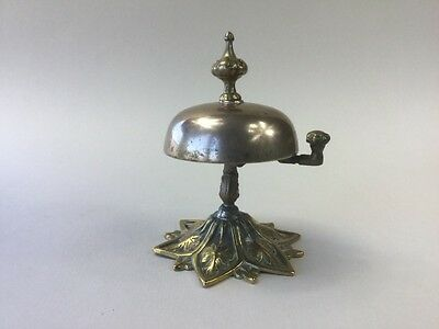 Victorian Brass Desk / Reception Bell