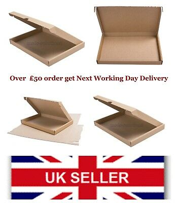 C4/A4 Royal Mail Large Letter Cardboard Mailing Postage Box  PIP-34x23x2.3cm