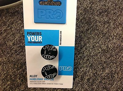 Pro Bar End Plugs Black  Alloy 17g