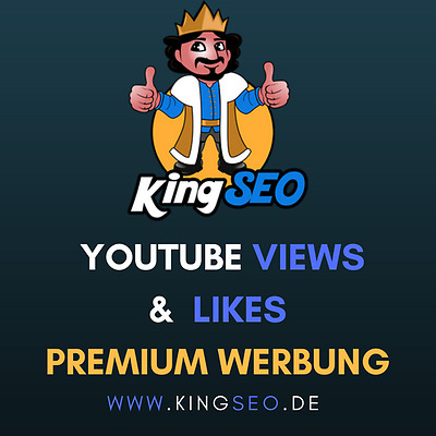 Echte Youtube Werbung - Youtube Traffic - Youtube SEO - Premium Social Media