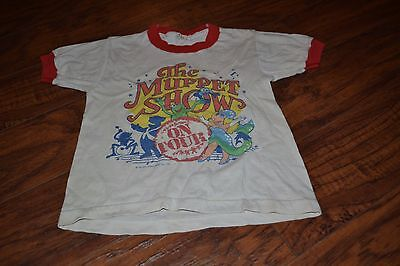 A13- Vintage The Muppet Show On Tour 1984 Shirt