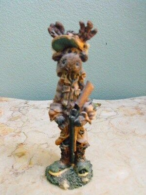 Boyds Bears & Friends * Folkstone Collection Ernest Hemmingmoose The Hunter
