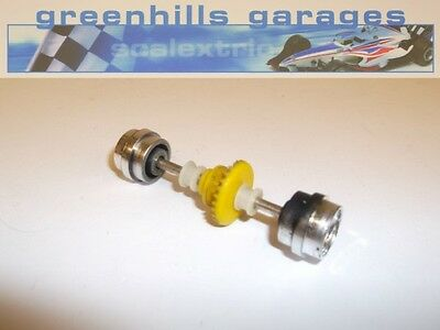 Greenhills Scalextric Ford Capri 3L Rear Axle & Wheels Chrome Used – P3003