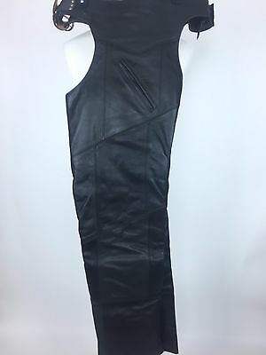 Espinoza Leather Motorcycle Chaps Size XL Made in the USA