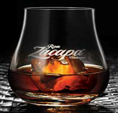 NEW Zacapa Rum Crystal Tumbler Glass - HARD-TO-FIND