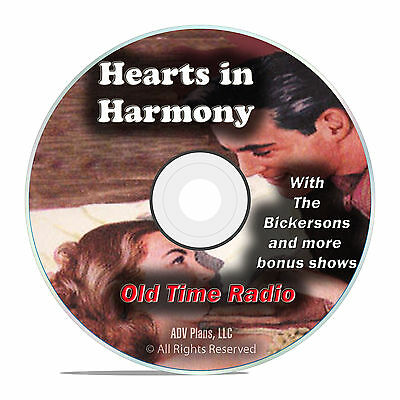 Hearts in Harmony, 987 Old Time Radio Soap Opera Show with Bickersons DVD F92