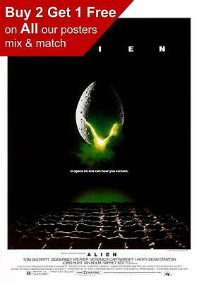 Alien 1979 Movie Poster  A5 A4 A3 A2 A1