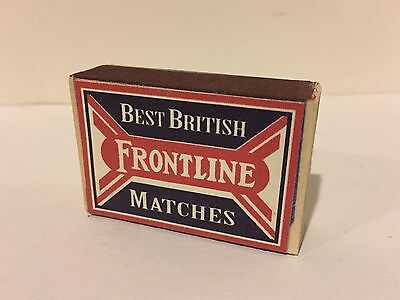 WW1 - Best British FRONTLINE - Matchbox Reproduction