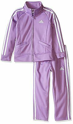 Adidas adidas Baby Girls Tricot Zip Jacket and Pant Set- Pick SZ/Color.