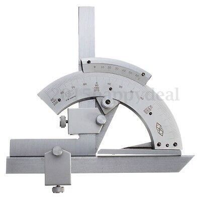 0-320°Universal Bevel Protractor Scales Inner And Outer Angle Measuring Finder
