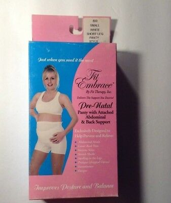Maternity Underware Panty Back & Ab Support pre Natal Garment n Girdle Pregnancy