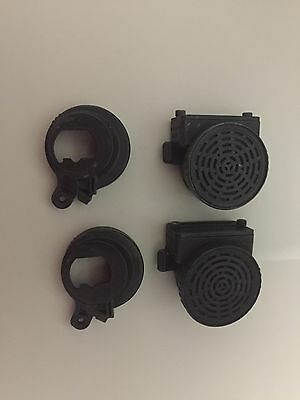 Lot Of Two Scott Scba Mask Voice Amps