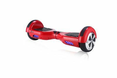 Two Wheels LED Нoverboard SeIf Balancing Scooter Xcoot G2 RED, Bonus Bag