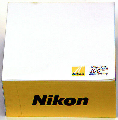 Rare Nikon 100th Anniversary collectible Post-It pad / notepad