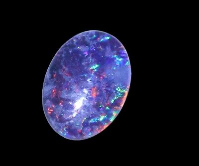 Australian Natural triplet Opal stone 14x10x4mm for pendant brooch ring bracelet