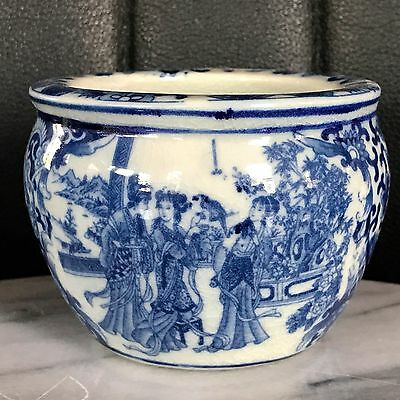 Antique Chinese Porcelain Blue and White  Pot