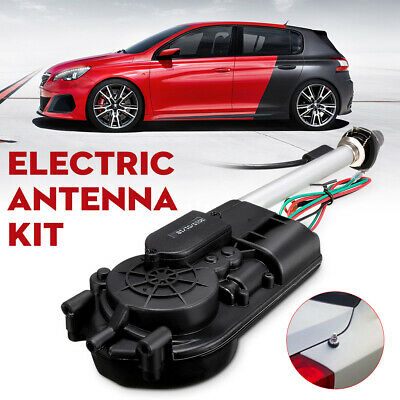 Universal Car Electric Radio Fully Aerial Booster Power Automatic Antenna Mount