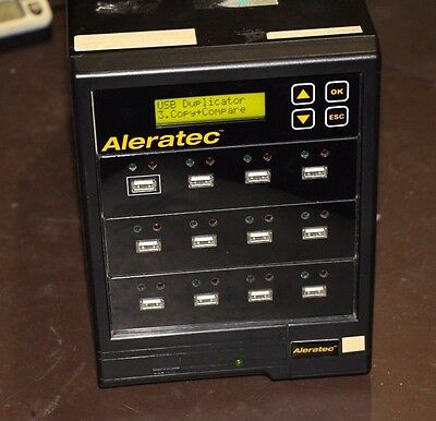 Aleratec 1:11 USB Copy Tower SA Duplicator  330105, Used