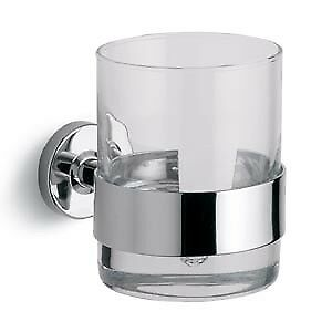 New Bathroom (Made In Italy  Bertocci Cinquecento glass and holder satin chrome