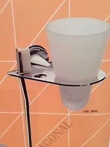287001 Pom d'or  Diagonal toothbrush and tumbler holder