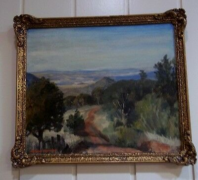 Abstract Oil Painting , by Listed Artist , Bertram Bryning , 1875 - 1960