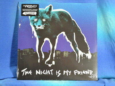 "The Prodigy - The Night Is My Friend EP, lim. 12"", clear Vinyl, MP3, neu/OVP"