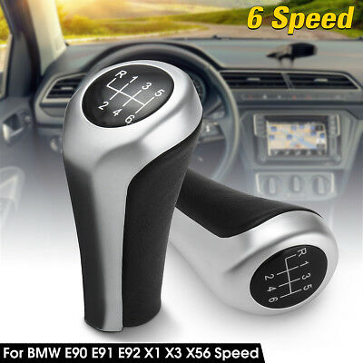 Car 6 Speed Manual Stick Gear Shift Knob Lever For BMW E90 E91 E92 X1 X3 X5
