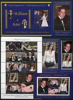 Penrhyn 2011 Kgl. Verlobung Prinz William Kate Royal Engagement MNH