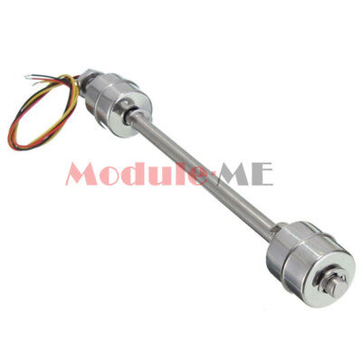 200mm Liquid Float Switch Water Level Sensor Stainless Steel Double Ball MO
