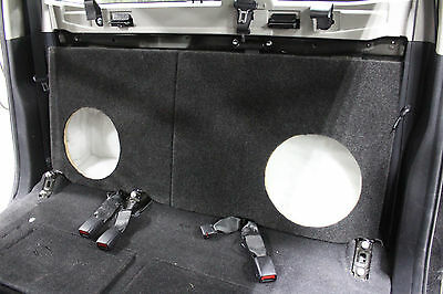 Toyota Hilux Dual Cab Subwoofer Packs 2014 to 2017 - Fibreglass custom sub box