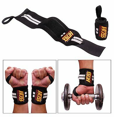 Fitness Body Building Gym Straps Wraps Training Weight Lifting Support Straps
