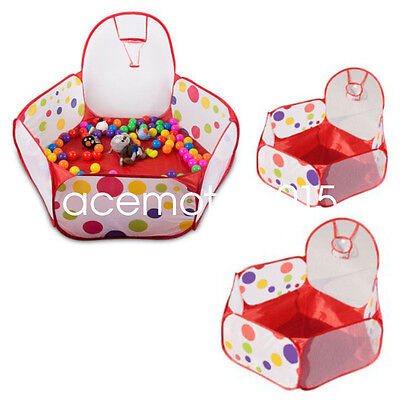 Outdoor Indoor Kids Game Play Children Toy Tent Playhouse Ocean Ball Pit Pool