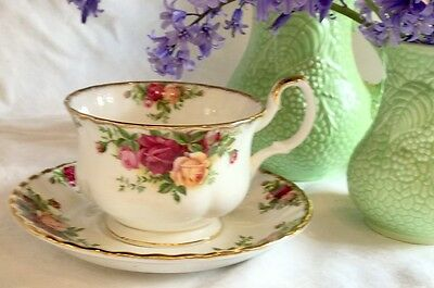 Royal Albert 'Old Country Roses' jumbo cup and saucer - rare second