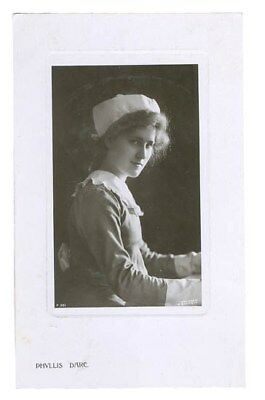 Stage And Film Actress Phyllis Dare Real Photo Postcard