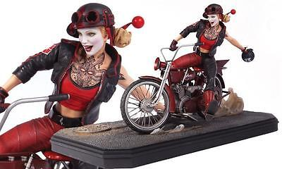 Gotham City Garage Harley Quinn Statue Dc Comics Collectibles Suicide Squad