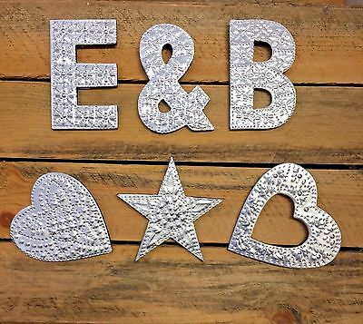 10cm Aluminium Letters Wall Hangings Gifts Signs Home Wedding Names