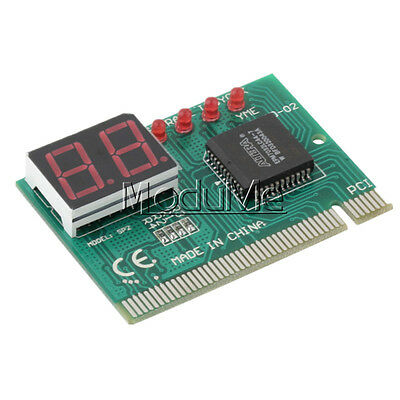 PCI PC Diagnostic 2-Digit Card Motherboard Post Tester Analyzer Checker Laptop M