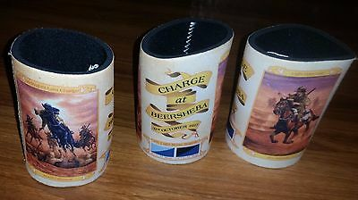 CHARGE AT BEERSHEBA stubby cooler/holder NEW 2017 CENTENARY - LIGHT HORSE