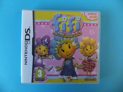 FIFI AND THE FLOWERTOTS BOX ONLY NO GAME Nintendo DS DSL DSi XL 3DS 2DS PAL