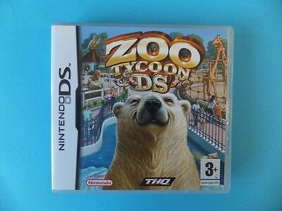 ZOO TYCOON BOX ONLY Nintendo DS DSL DSi XL 3DS 2DS PAL