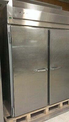 Mccall 4002H Two Door Roll In Pizza Bread Dough Heated Proofer Proofing Cabinet