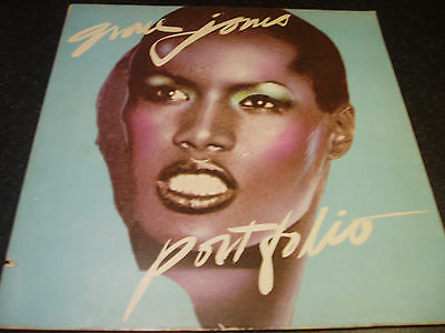 "Grace Jones,Portfolio,vinyl 12"" LP,1977 U.S(1st Press)Island Records(ILPS -9470)"