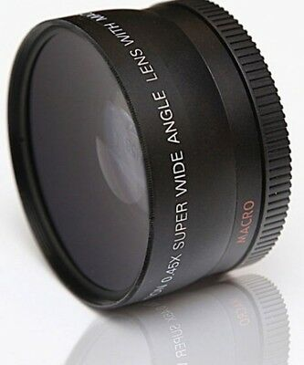 MACRO CLOSE UP and WIDE ANGLE LENS for Sony Alpha A230 A330 A350 A380 A500 A560